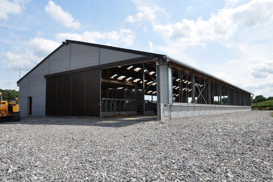 Etable Vaches Van Niewenhuise