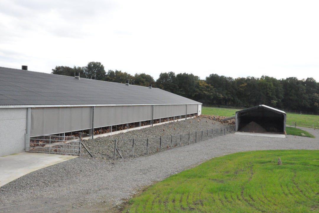 Poulailler industriel ferme Bocart